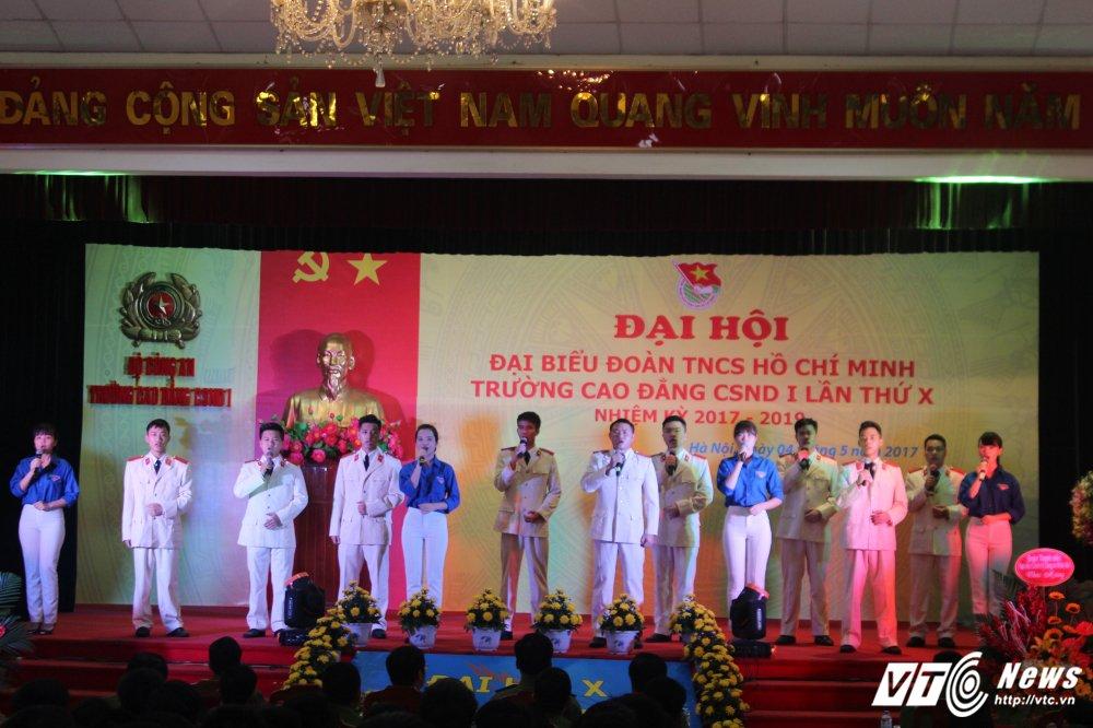 Thanh tich noi bat cua tuoi tre Cao dang Canh sat nhan dan I hinh anh 2
