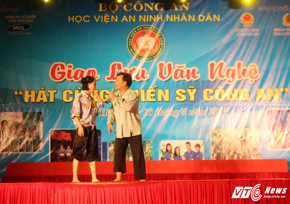 Nghe sy Quang Teo doi mua dien kich tai 'Hat cung chien sy cong an' hinh anh 3