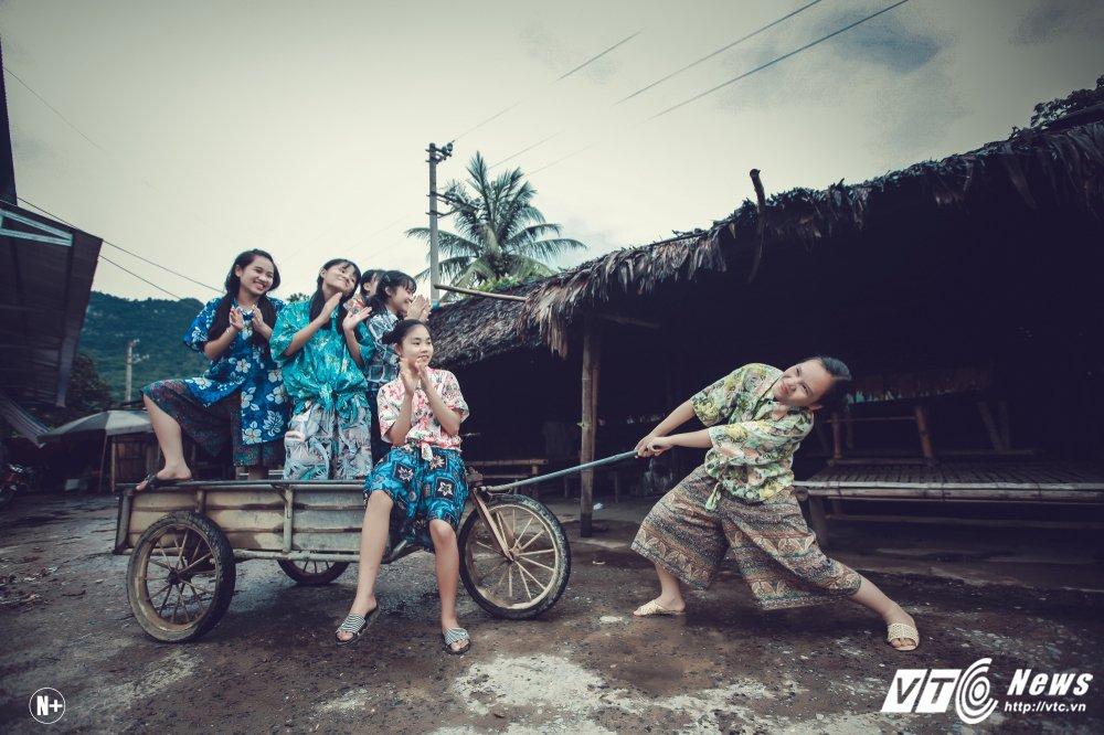 Anh ky yeu 'Ky uc mot thoi' cua hoc sinh dan toc Thanh Hoa hinh anh 16