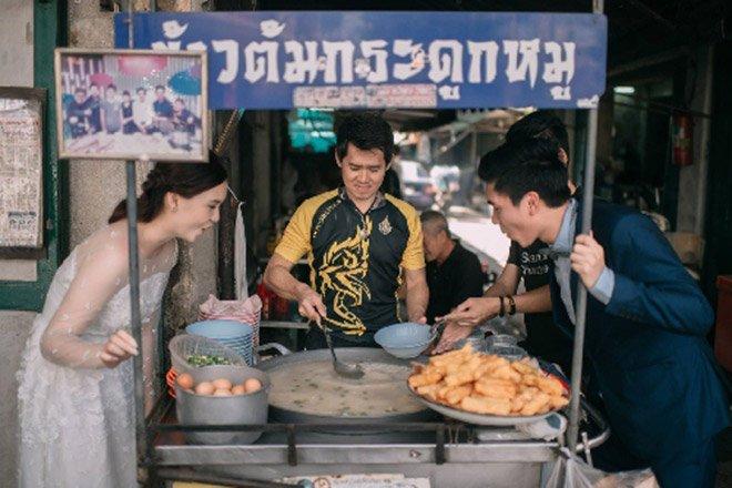 Anh cuoi cua cap doi Thai Lan me... an uong gay 'sot' hinh anh 9