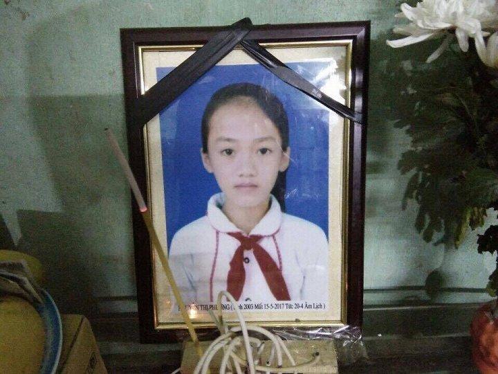 Be gai 14 tuoi chet bat thuong tai benh vien o Bac Giang: Trung cau giam dinh phap y hinh anh 2
