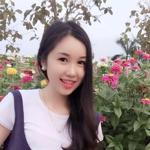 Nu sinh nguoi Lao xinh dep gioi tieng Viet, uoc mo lam bac si hinh anh 1