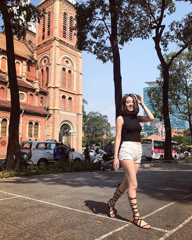 Hot girl Hoc vien Hang khong Viet Nam chia se ly do thi Hoa hau Hoan vu hinh anh 9