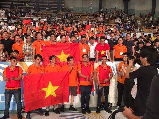 Viet Nam vo dich Robocon chau A - Thai Binh Duong nam 2017 hinh anh 1