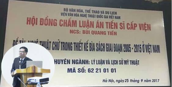 Luan an Tien si ve bia sach 'gay bao mang': Vien Van hoa Nghe thuat Quoc gia Viet Nam noi gi? hinh anh 1
