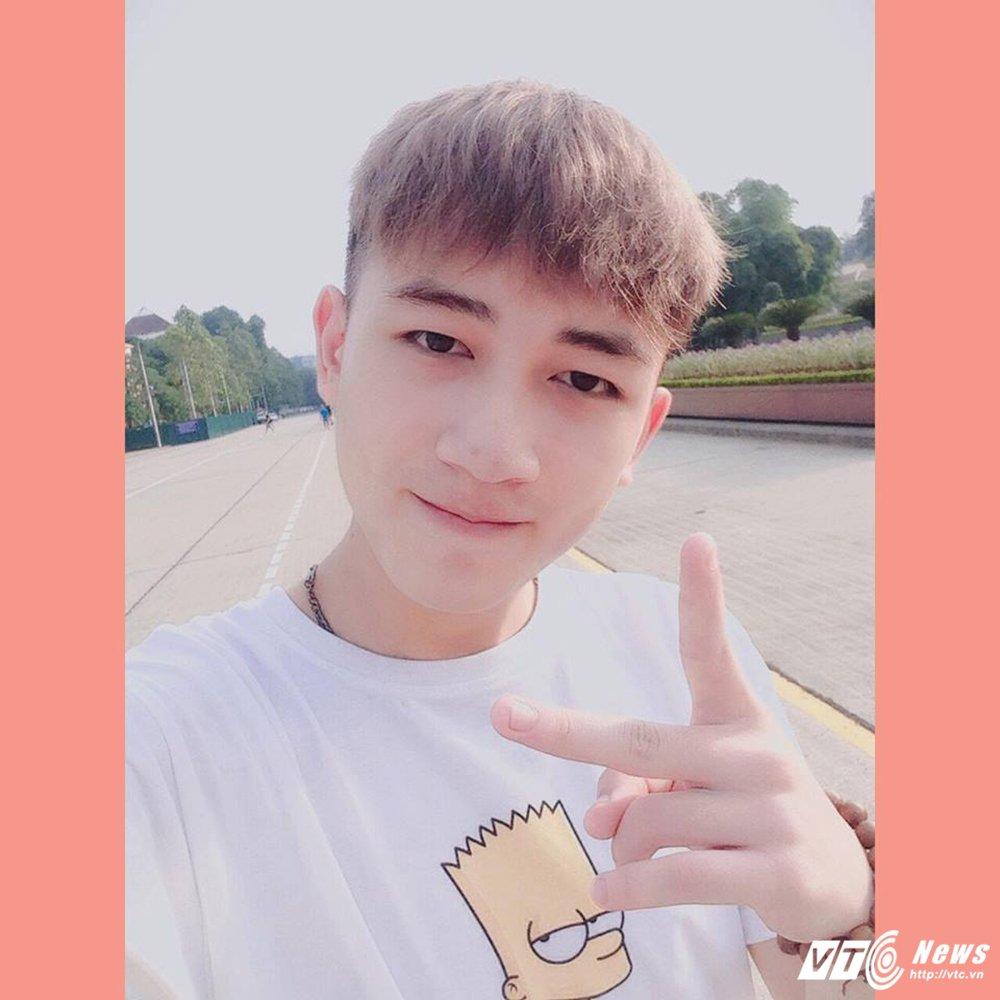 Nam sinh dien trai DH Noi vu tiep tuc gay 'bao mang' voi ban cover moi hinh anh 1
