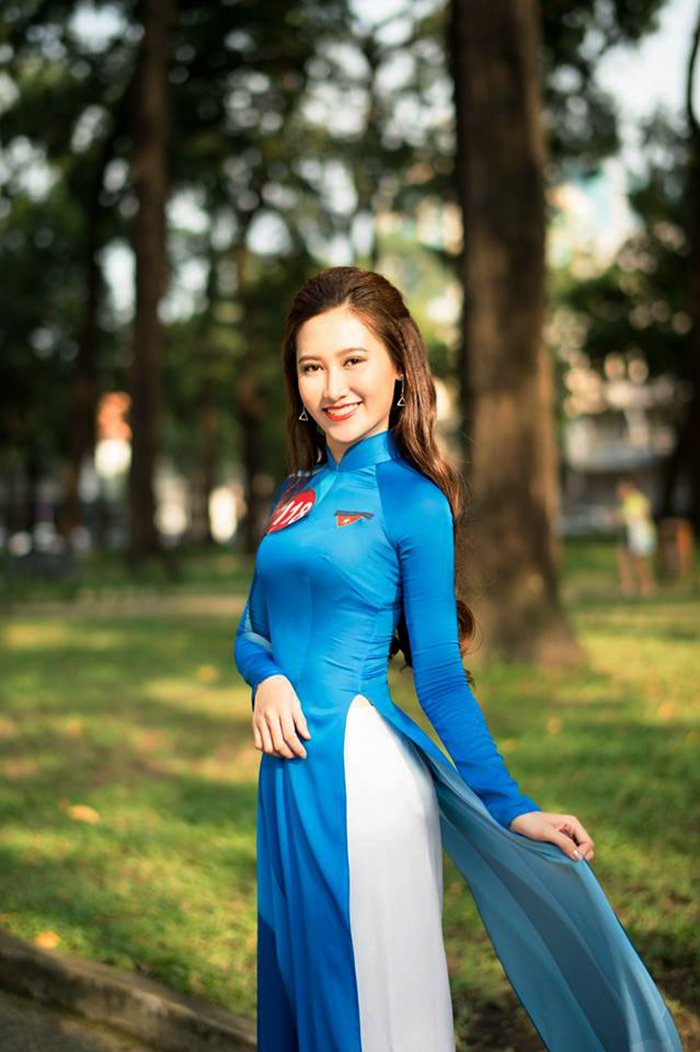 Ngam nhung nu sinh noi bat nhat chung ket Hoa khoi Sinh vien Viet Nam 2017 hinh anh 11