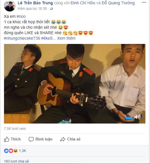 Cover ban hit cua Noo Phuoc Thinh, 'soai ca cong an' tiep tuc gay 'sot' hinh anh 1