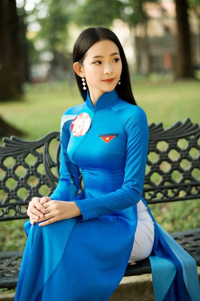 Ngam nhung nu sinh noi bat nhat chung ket Hoa khoi Sinh vien Viet Nam 2017 hinh anh 3