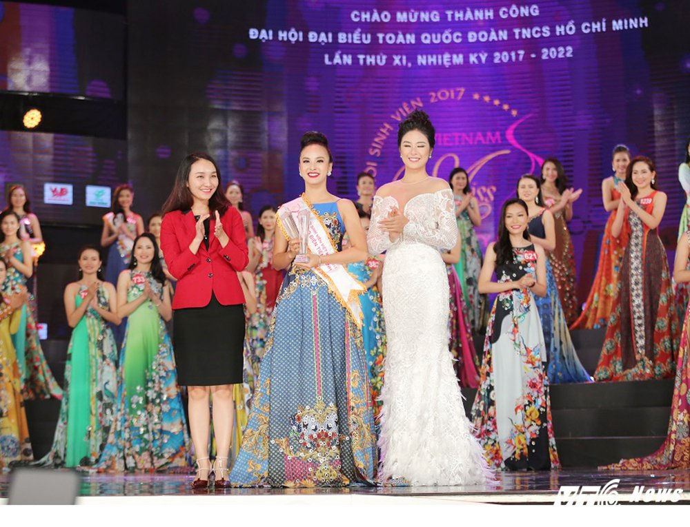 Nu sinh xinh dep DH Tay Do dang quang Hoa khoi Sinh vien Viet Nam 2017 hinh anh 5