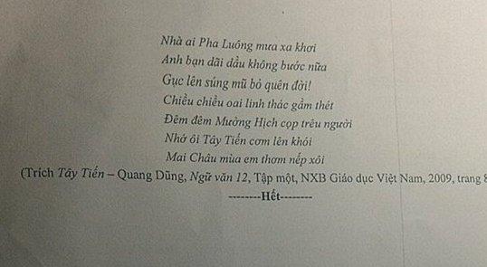 Dap an de thi mon Van ky thi THPT Quoc gia 2018 tai Hai Phong hinh anh 2