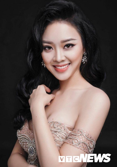 Hot girl DH Phong chay chua chay: 'Thi Hoa hau vi uoc mo chu khong de noi tieng' hinh anh 1