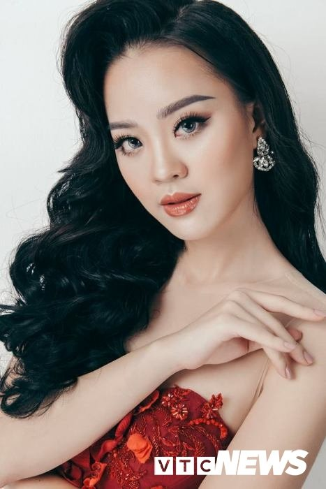 Hot girl DH Phong chay chua chay gianh giai Nguoi dep tai nang Hoa hau Hoan vu 2017 hinh anh 1