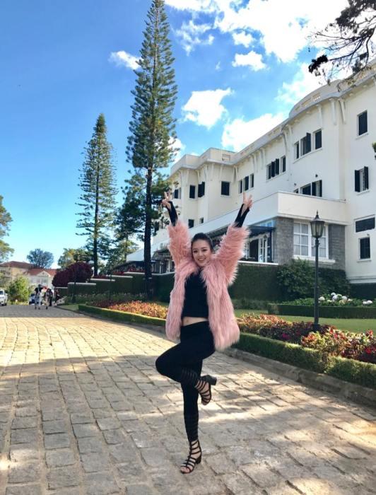 Hot girl DH Phong chay chua chay gianh giai Nguoi dep tai nang Hoa hau Hoan vu 2017 hinh anh 13