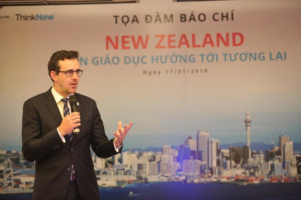 30 sinh vien tai nang Viet Nam se nhan hoc bong cua Chinh phu New Zealand nam 2018 hinh anh 1