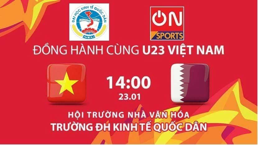 Truc tiep: Sinh vien Ha thanh keo den kin hoi truong co vu U23 Viet Nam hinh anh 19