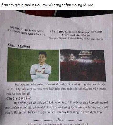 Khoanh khac an mung cua Van Thanh vao de thi hoc sinh gioi Thai Nguyen hinh anh 1