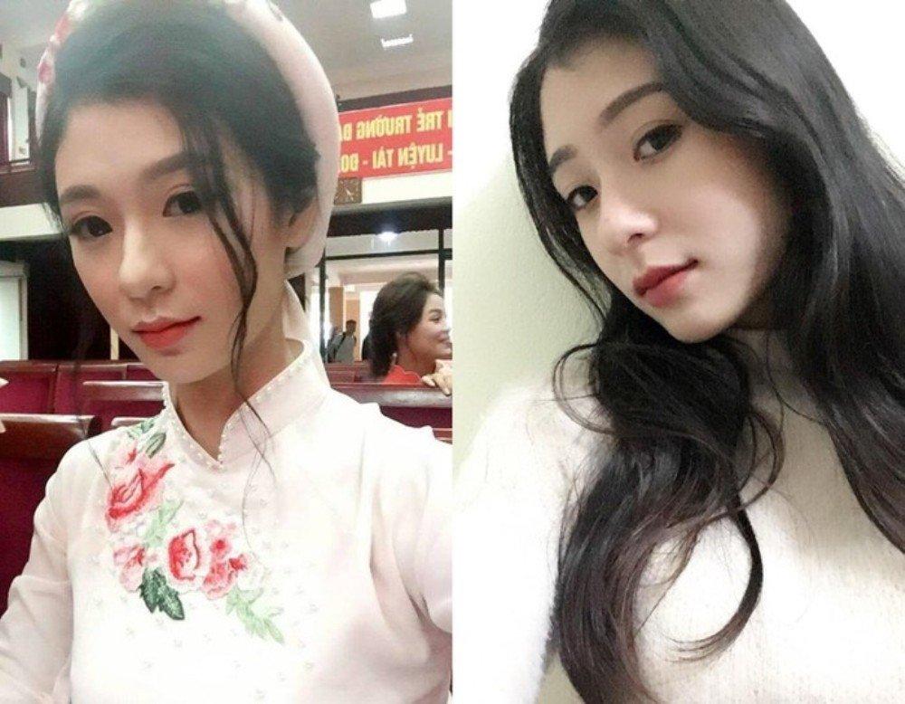 Nu sinh Hai Phong xinh dep duoc vi la 'ban sao' thanh vien nhom SNSD hinh anh 6