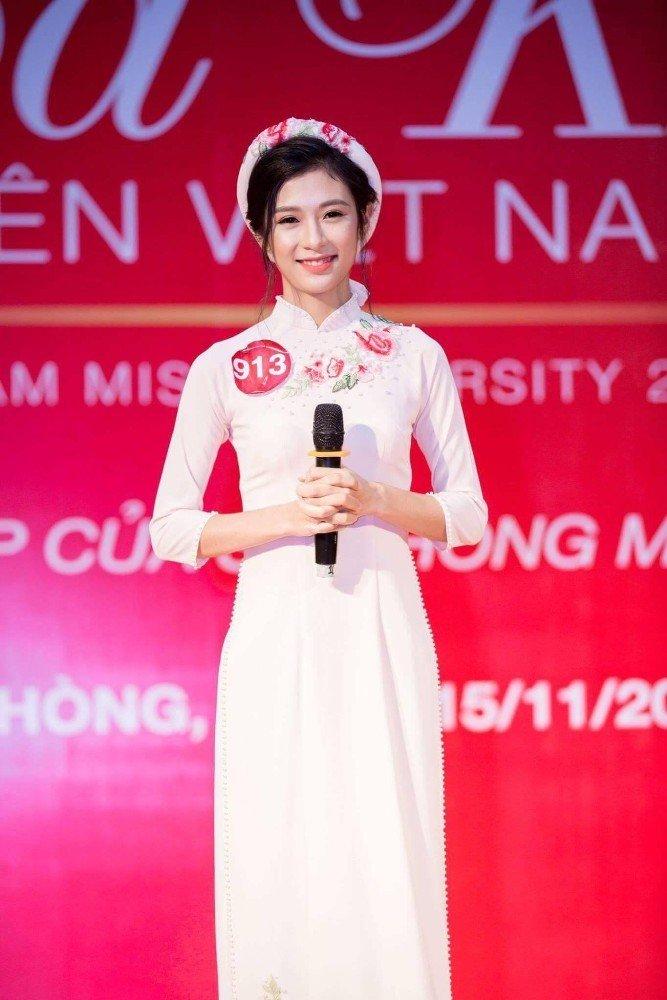 Nu sinh Hai Phong xinh dep duoc vi la 'ban sao' thanh vien nhom SNSD hinh anh 5