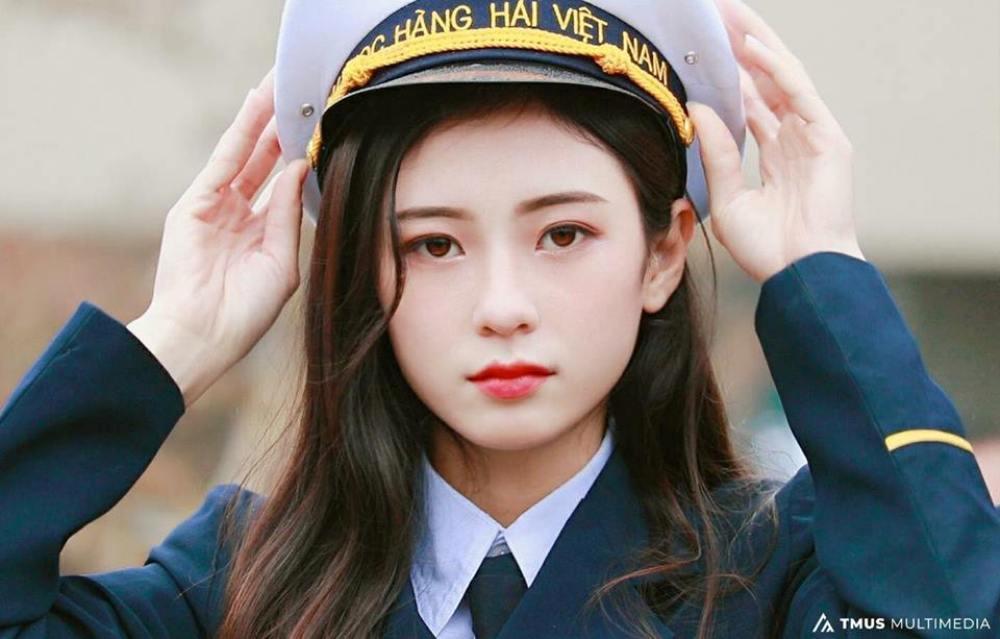 Nu sinh Hai Phong xinh dep duoc vi la 'ban sao' thanh vien nhom SNSD hinh anh 3