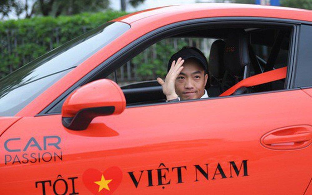 Dai gia Cuong 'Do la', Tuan Hung xuat hien cung loat sieu xe dinh dam tai Lao Cai hinh anh 1