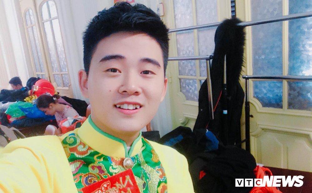 Nam sinh DH Van Hoa – Nghe thuat Quan doi dep trai nhu sao Han hinh anh 1