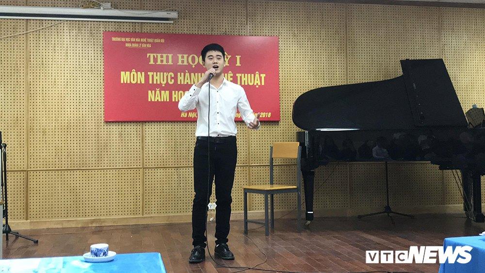 Nam sinh DH Van Hoa – Nghe thuat Quan doi dep trai nhu sao Han hinh anh 12