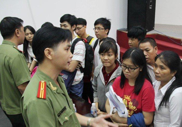 Tuyen sinh truong Cong an 2018 khu vuc phia Nam: Thong tin can biet hinh anh 1