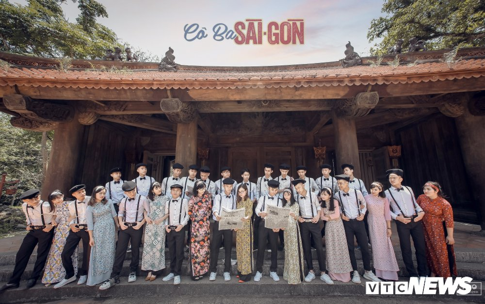 Anh ky yeu 'Co Ba Sai Gon' cua hoc sinh Thanh Hoa gay 'sot' hinh anh 6