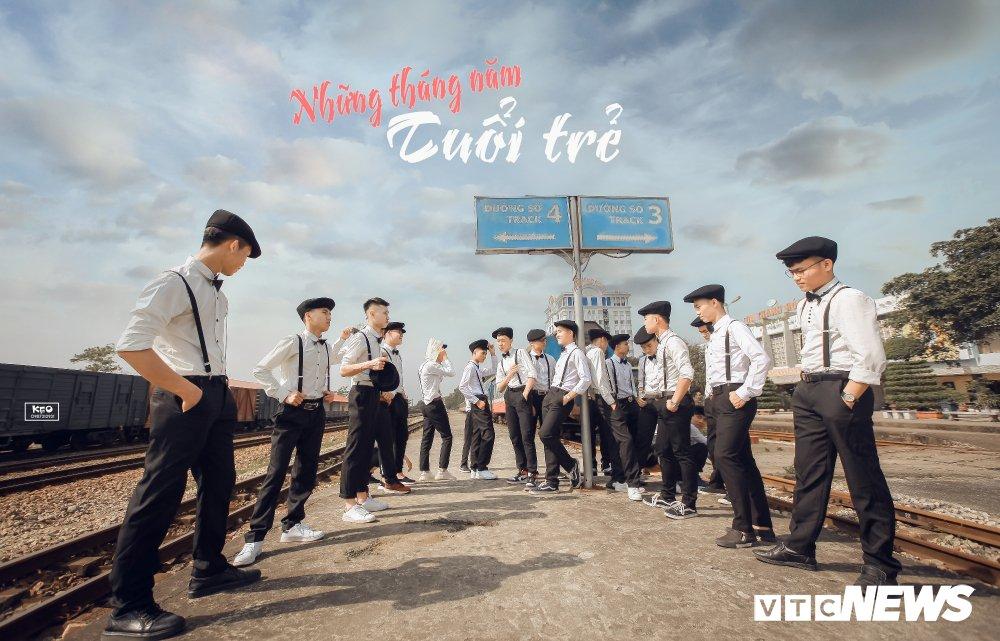 Anh ky yeu 'Co Ba Sai Gon' cua hoc sinh Thanh Hoa gay 'sot' hinh anh 19
