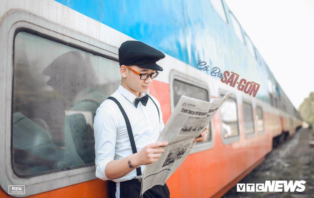 Anh ky yeu 'Co Ba Sai Gon' cua hoc sinh Thanh Hoa gay 'sot' hinh anh 15