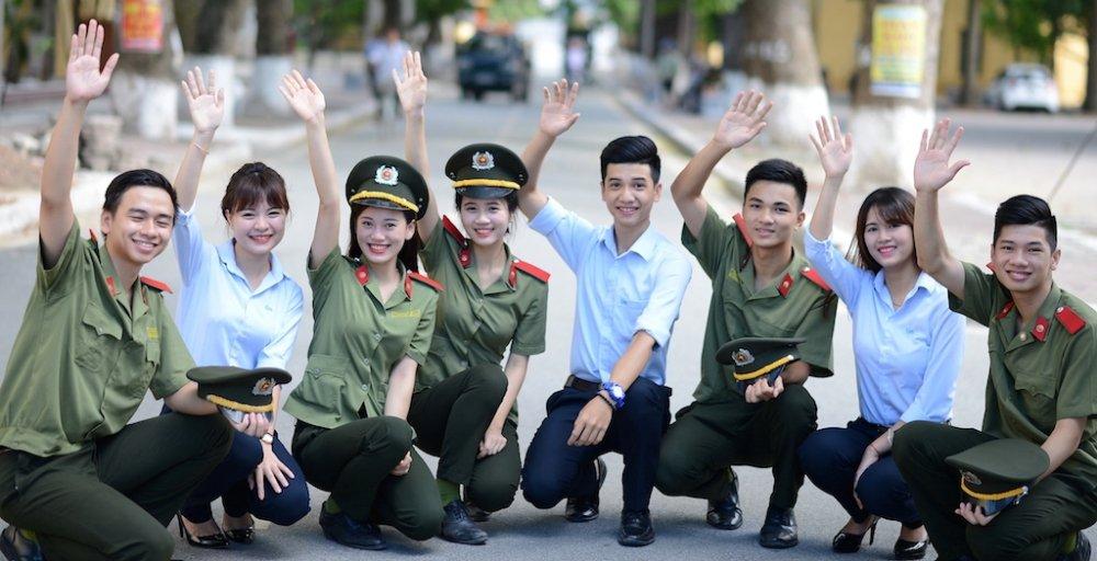 Tuyen sinh truong Cong an 2018: Tai sao cac nganh chi tuyen 10% nu? hinh anh 1