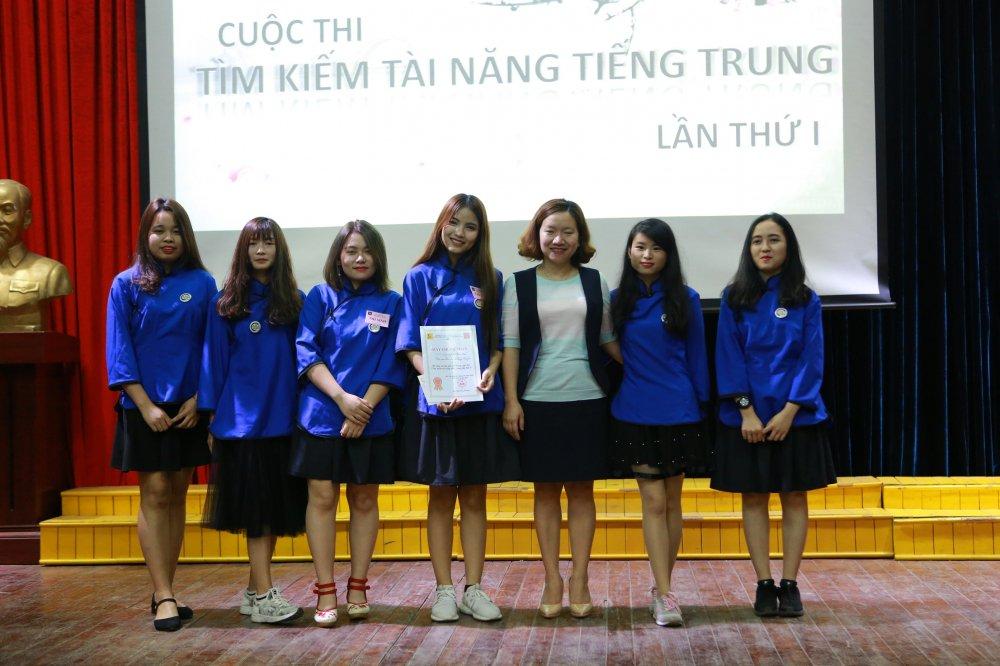 Chung ket 'Tim kiem tai nang tieng Trung' Dai hoc Cong nghiep Ha Noi hinh anh 9