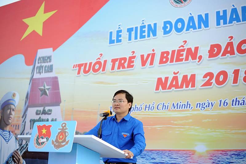 200 thanh nien tham gia 'Hanh trinh Tuoi tre vi bien dao que huong' 2018 hinh anh 2