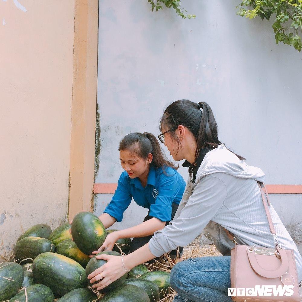 Sinh vien An ninh thuc trang dem ban dua giup nong dan Quang Nam hinh anh 13