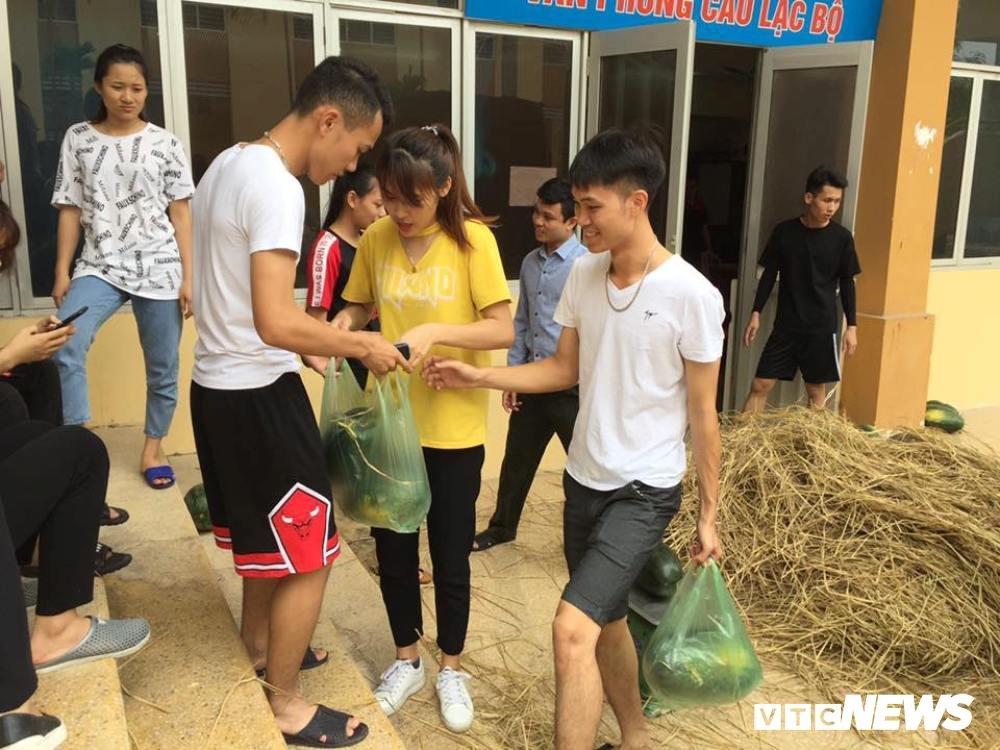 Sinh vien An ninh thuc trang dem ban dua giup nong dan Quang Nam hinh anh 8