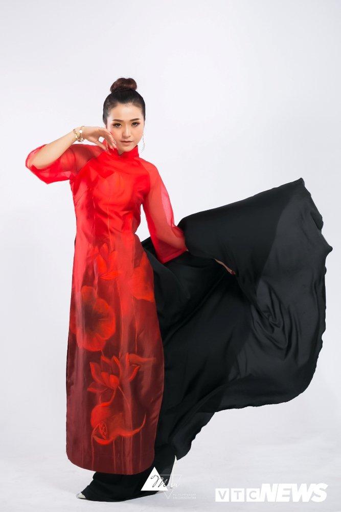 Nu DJ xinh dep Ha thanh ruc do trong bo anh 'Bua yeu – Bich Phuong' hinh anh 3