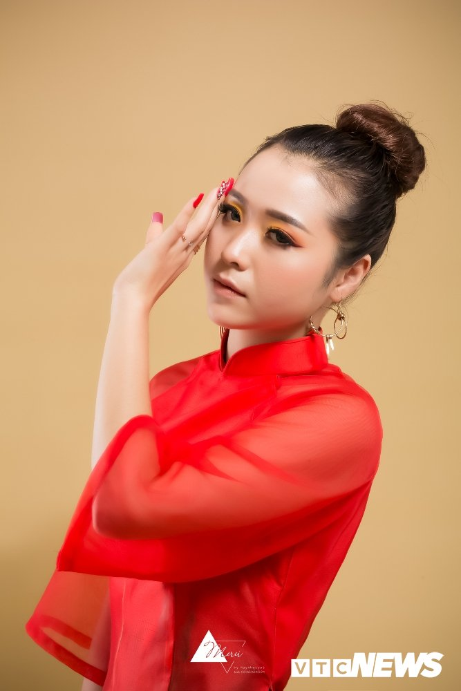 Nu DJ xinh dep Ha thanh ruc do trong bo anh 'Bua yeu – Bich Phuong' hinh anh 4
