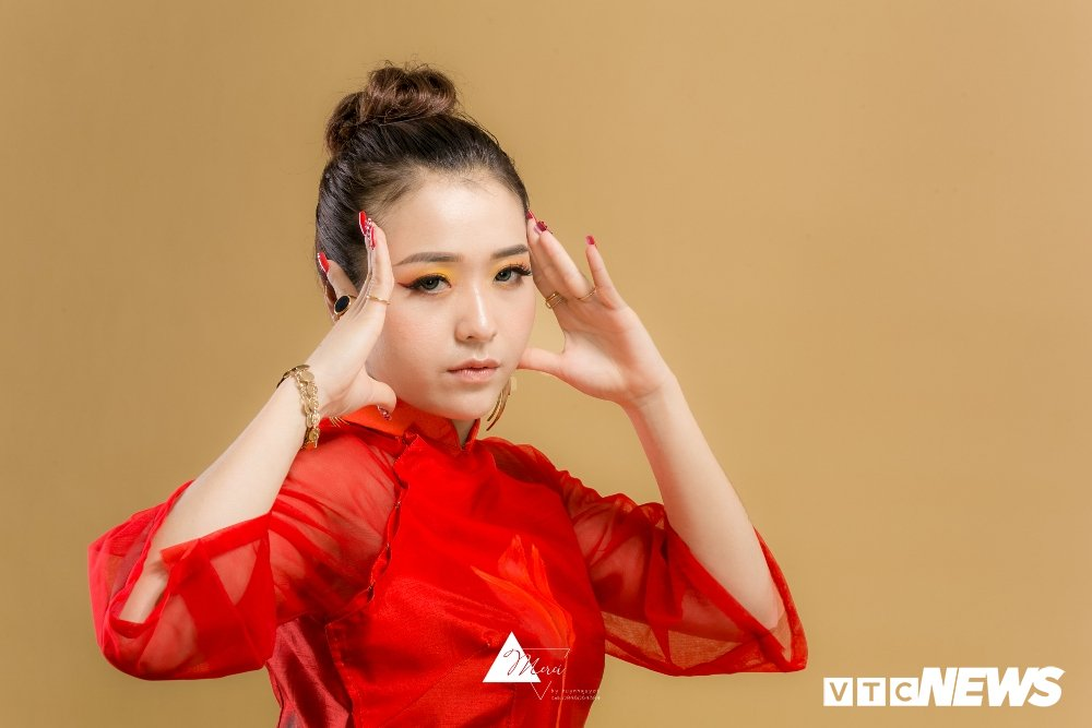Nu DJ xinh dep Ha thanh ruc do trong bo anh 'Bua yeu – Bich Phuong' hinh anh 7