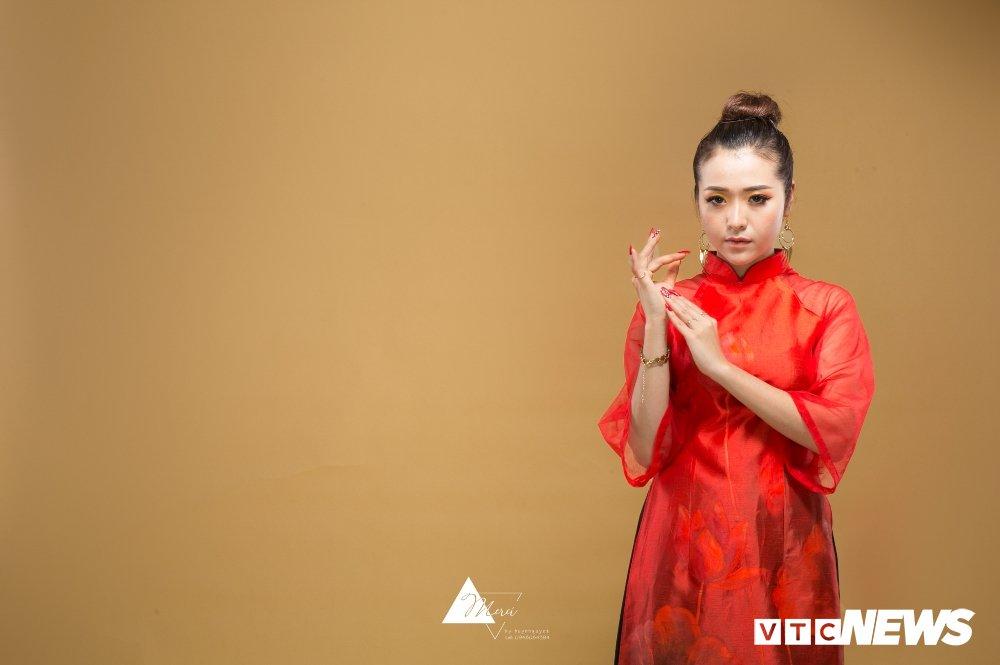Nu DJ xinh dep Ha thanh ruc do trong bo anh 'Bua yeu – Bich Phuong' hinh anh 9
