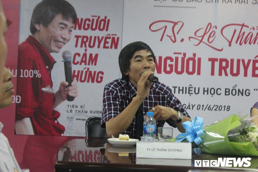 TS Le Tham Duong: 'Cam xuc la ke thu so mot cua thanh cong' hinh anh 1