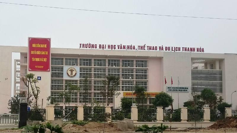 DH Van hoa, The thao va Du lich Thanh Hoa: Chi tieu tuyen sinh nam 2018 hinh anh 1