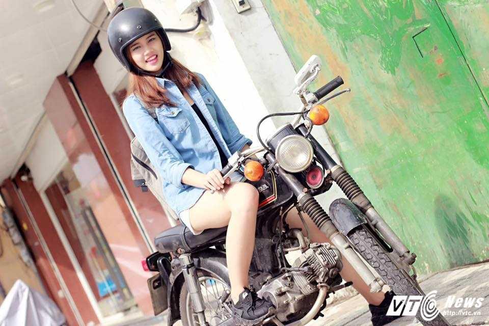 Hot girl CD Phat thanh - Truyen hinh dan hay, mua dep khien bao chang trai me man hinh anh 6