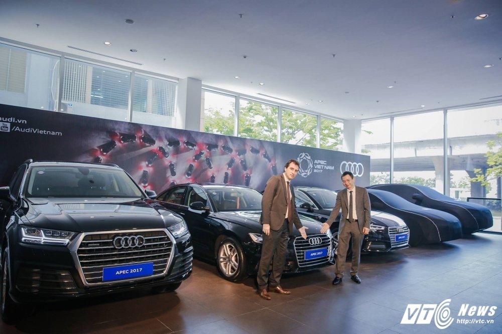 Choang ngop voi dan Audi phuc vu APEC 2017 hinh anh 1