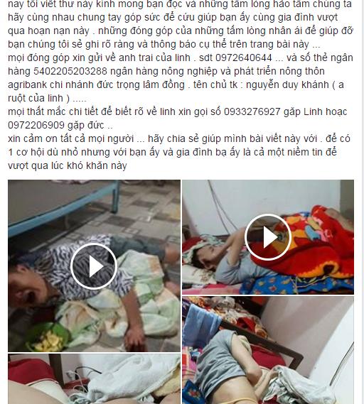 Chang trai bai liet 2 chan cham soc ban liet tu chi o benh vien hinh anh 4