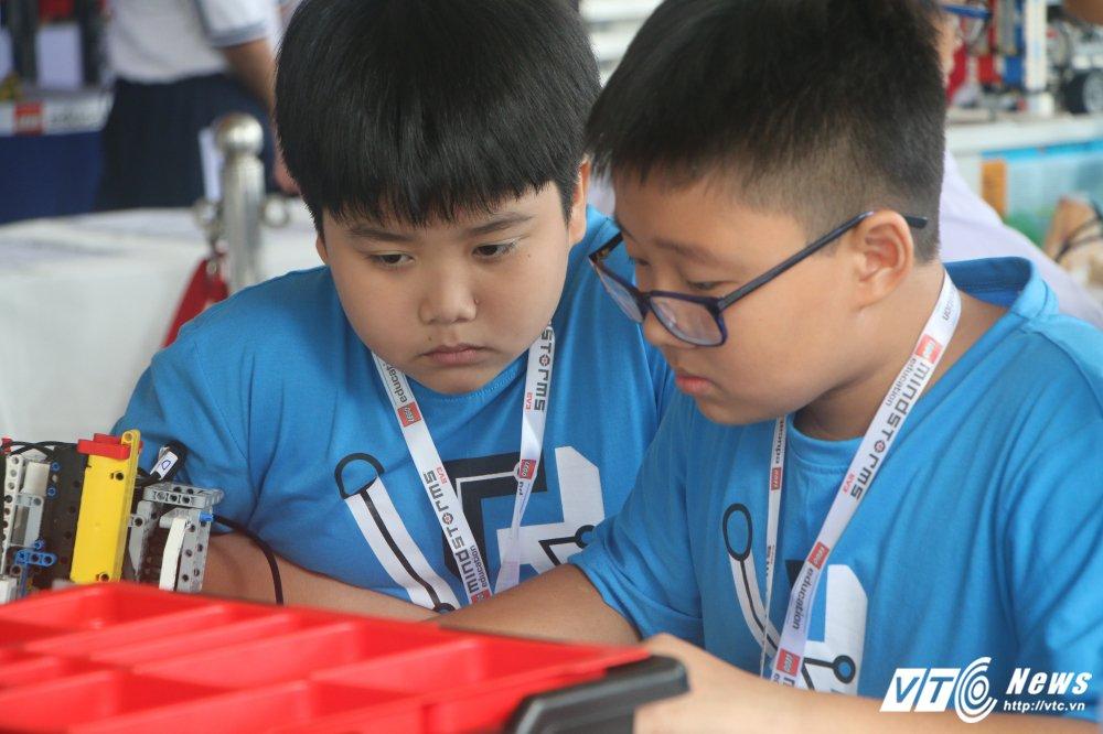 Nhung khoanh khac an tuong tai chung ket Robotacon Viet Nam 2017 hinh anh 4
