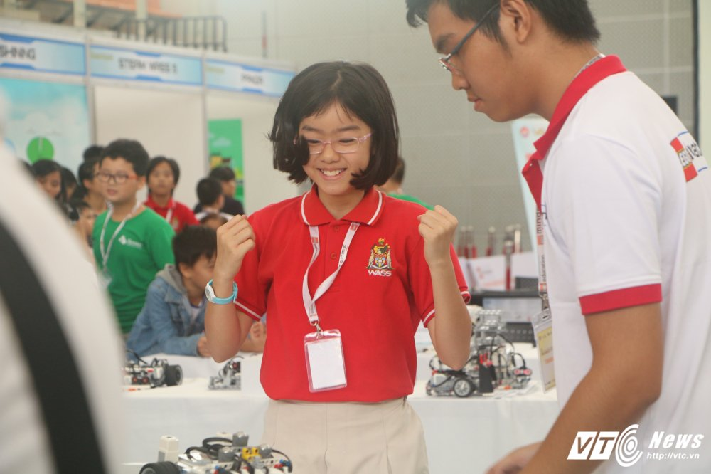Nhung khoanh khac an tuong tai chung ket Robotacon Viet Nam 2017 hinh anh 7
