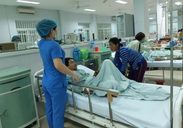 4 nguoi thiet mang o Quang Nam nghi do uong ruou chua Methanol hinh anh 1