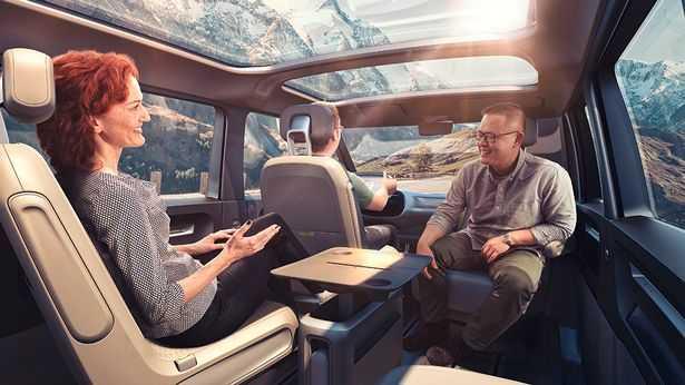 Trinh lang phien ban minibus VW Camper Van sieu an tuong hinh anh 3