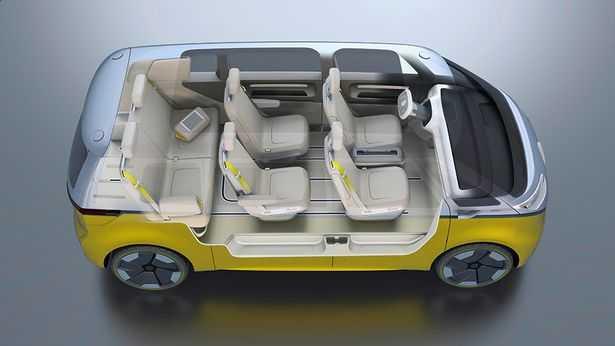 Trinh lang phien ban minibus VW Camper Van sieu an tuong hinh anh 1